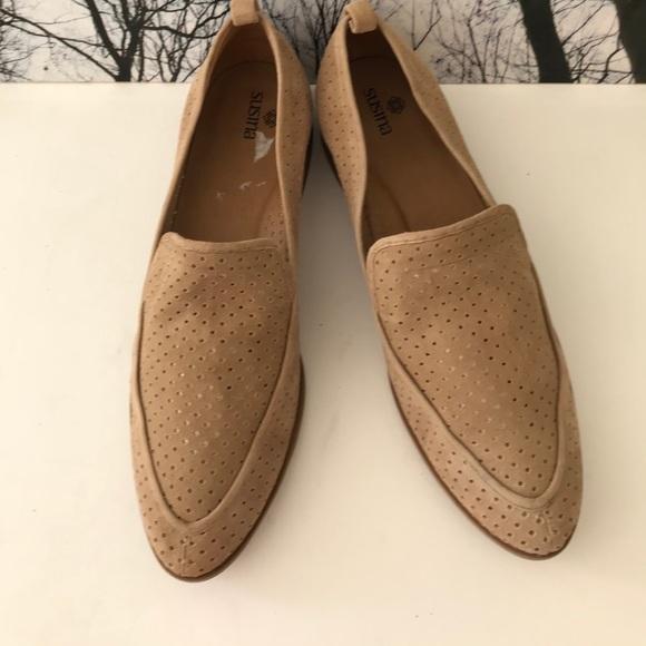 2a015c1154c M 5a84f00b3a112e913b9c3827. Other Shoes you may like. Susina Kellen Black  Leather Almond toe Loafers. Susina Kellen Black Leather Almond toe Loafers